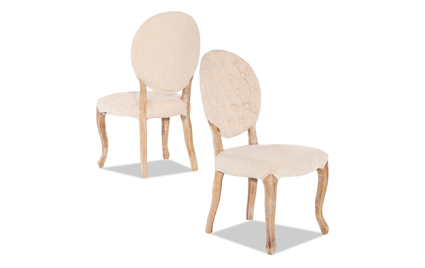 Glastonbury Oval Back Chair Set of 2
