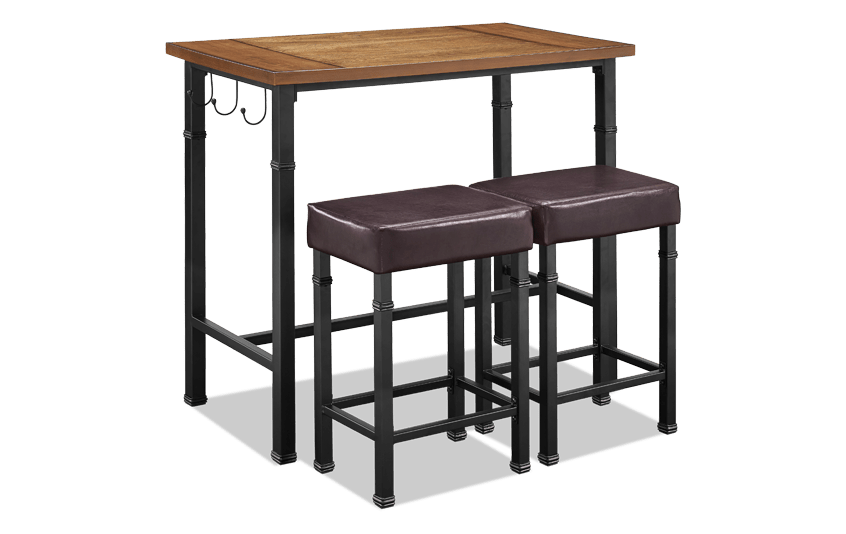 Jacob 3 Piece Pub Set