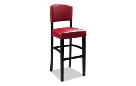 Venice Red Counter Stool
