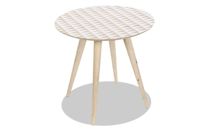 Modern Wood Accent Table