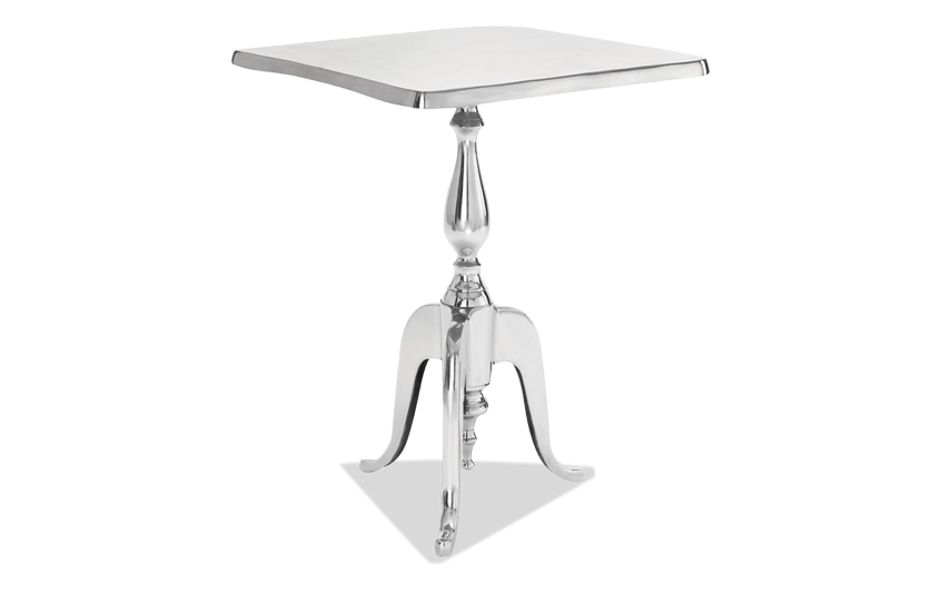 Aluminum Square Accent Table