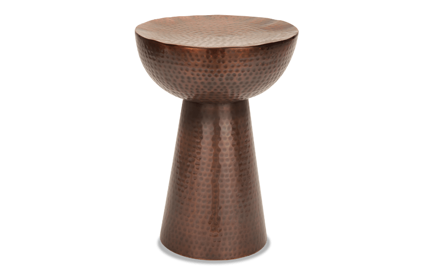 Bronze Metal Accent Table