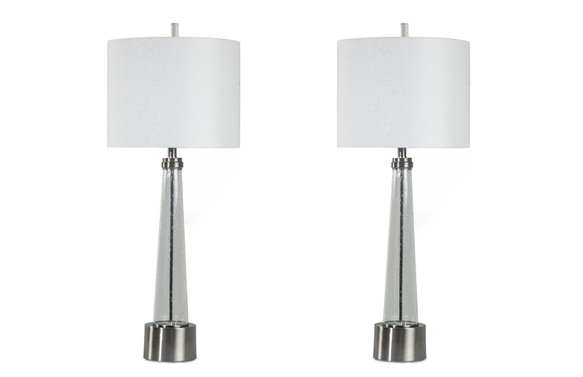 Set of 2 Dynasty Table Lamps