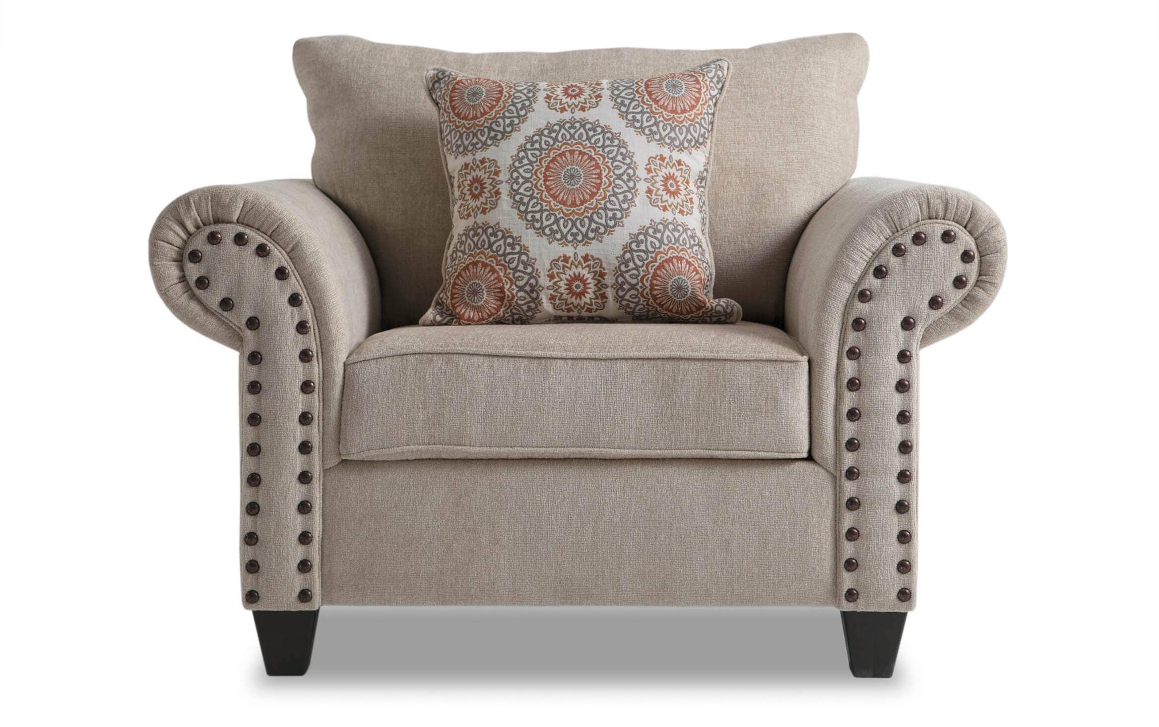 Artisan Beige Oversized Chair