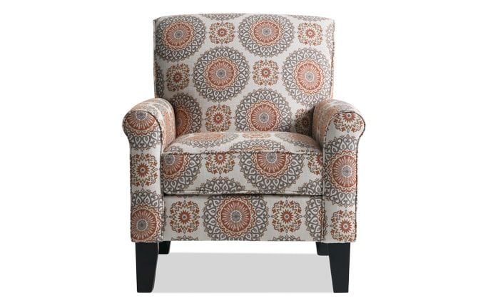 Calvin lierre maize accent chair - Bob s discount furniture living room sets ...