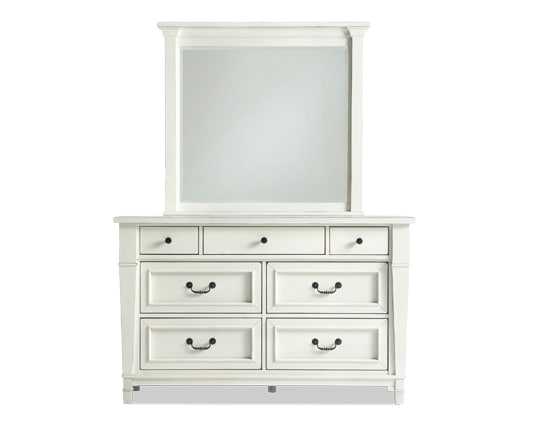 Julia Youth Dresser & Mirror