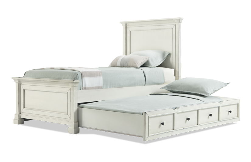 Julia Youth Panel Bed With Trundle