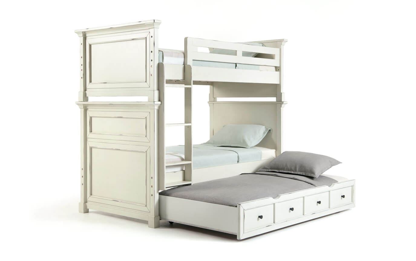 Julia Youth Bunk Bed Set With Trundle