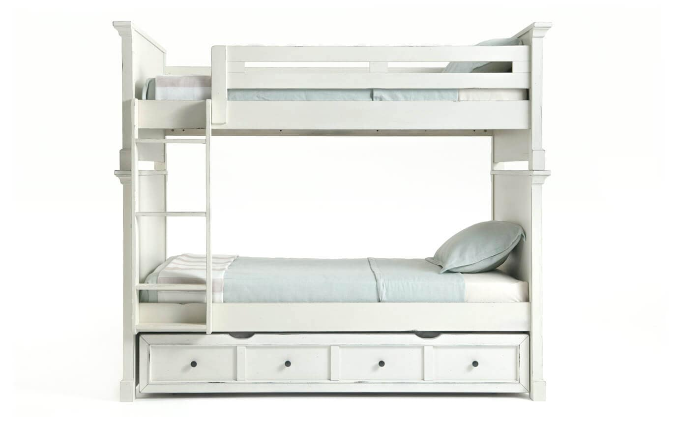 Julia Youth Bunk Bed With Trundle Bob S Discount Furniture