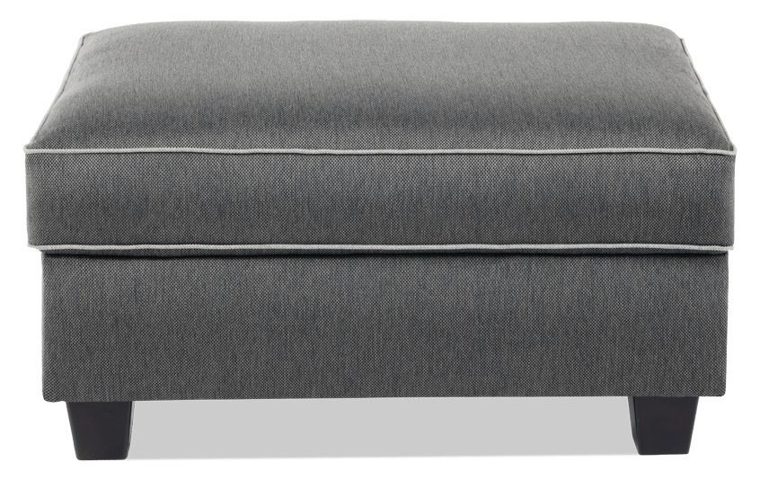 Ashton Charcoal Storage Ottoman