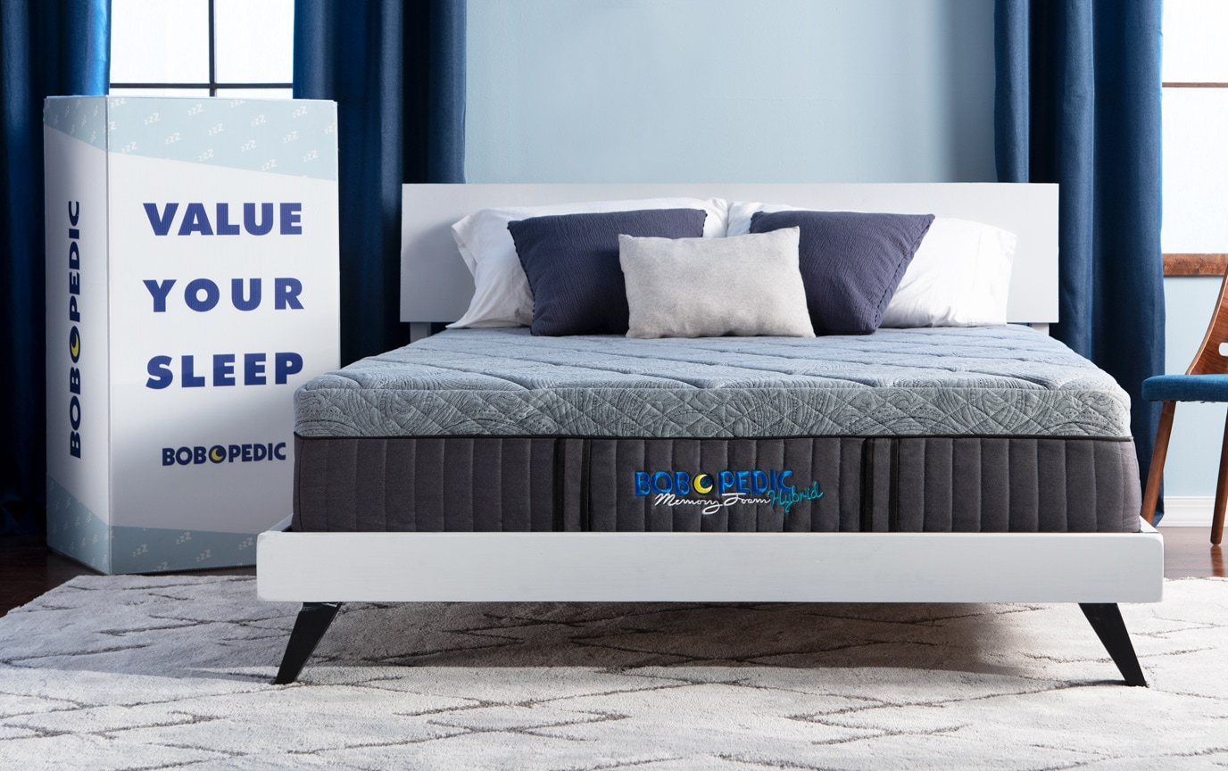 Bob O Pedic Hybrid Twin Xl Mattress Bobs Com