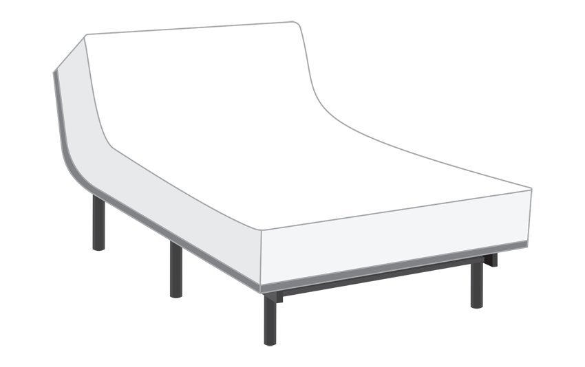 Power Bob with Passion Queen Mattress