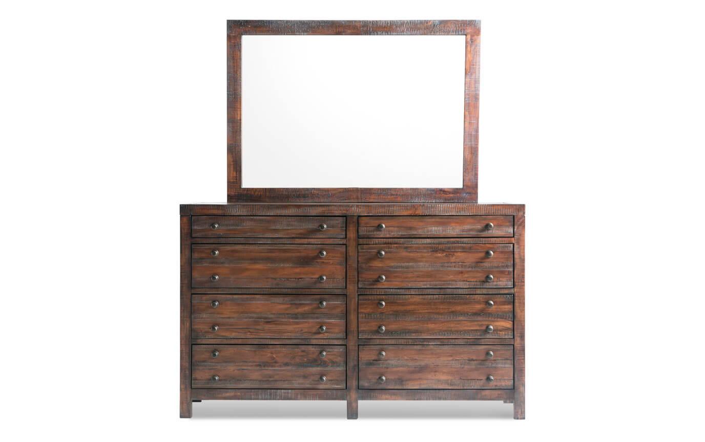 Java Dresser & Mirror