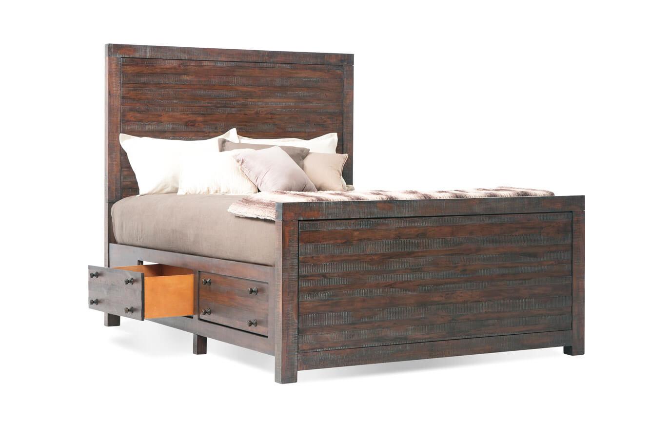 Java California King Storage Bed  sc 1 st  Bobu0027s Discount Furniture & Java California King Storage Bed | Outlet | Bobu0027s Discount Furniture