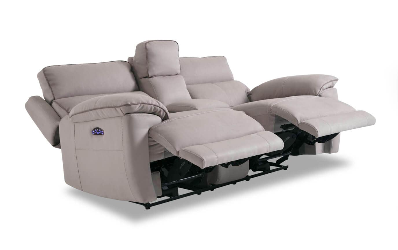 Jetson Power Reclining Console Loveseat