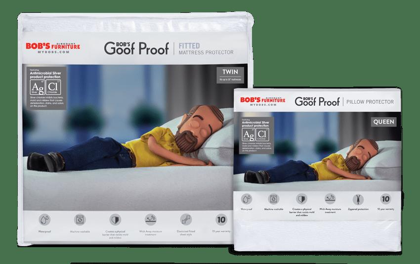 Twin Basic Mattress & Pillow Protector Bundle