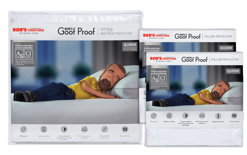 Basic Mattress and Pillow Protector Bundle