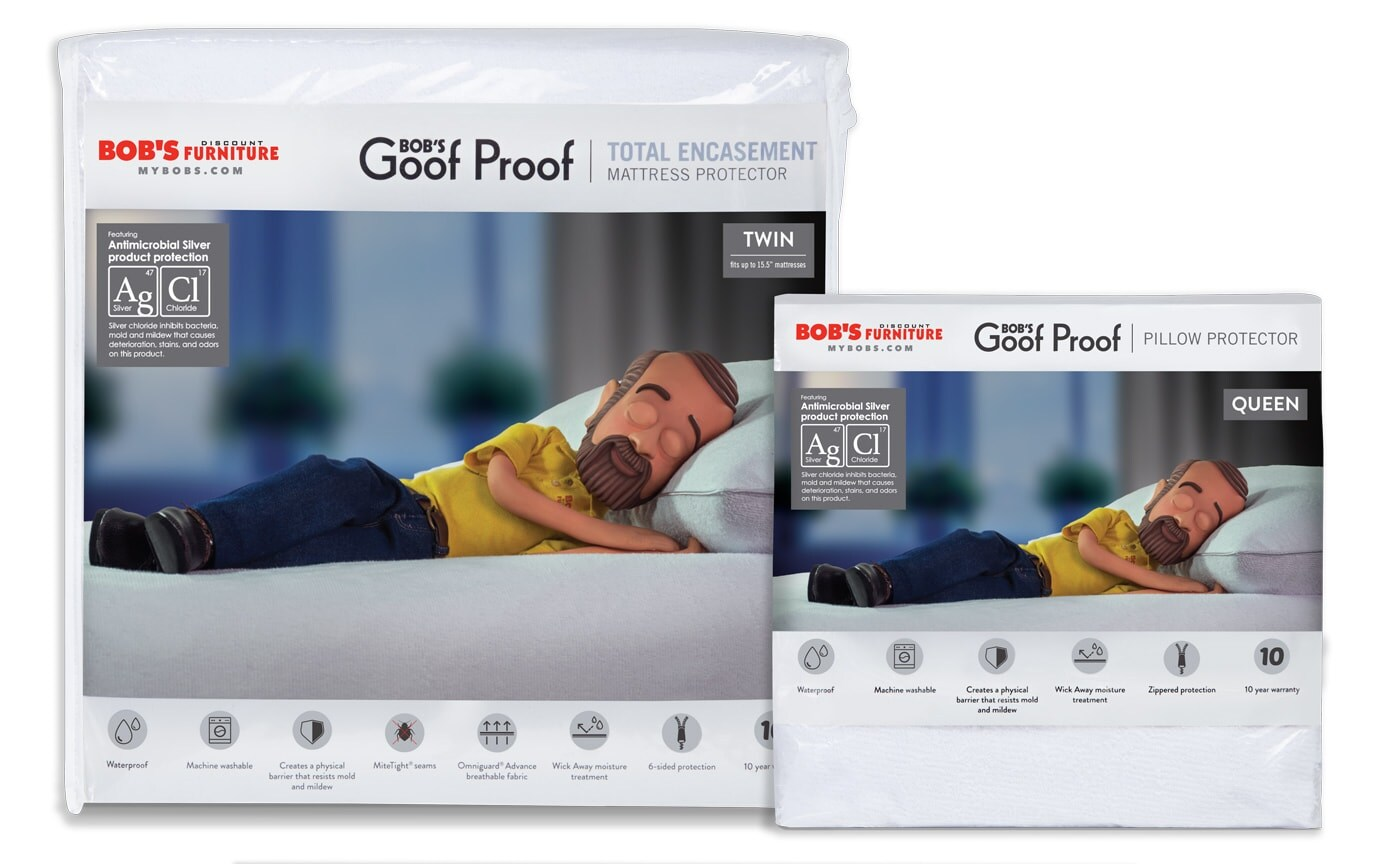 Twin Better Mattress and Pillow Protector Bundle