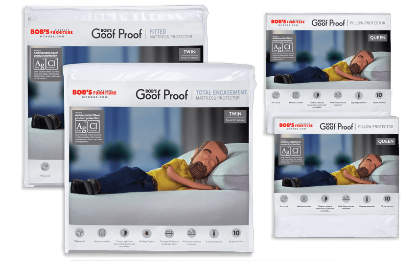 Twin Best Mattress and Pillow Protector Bundle