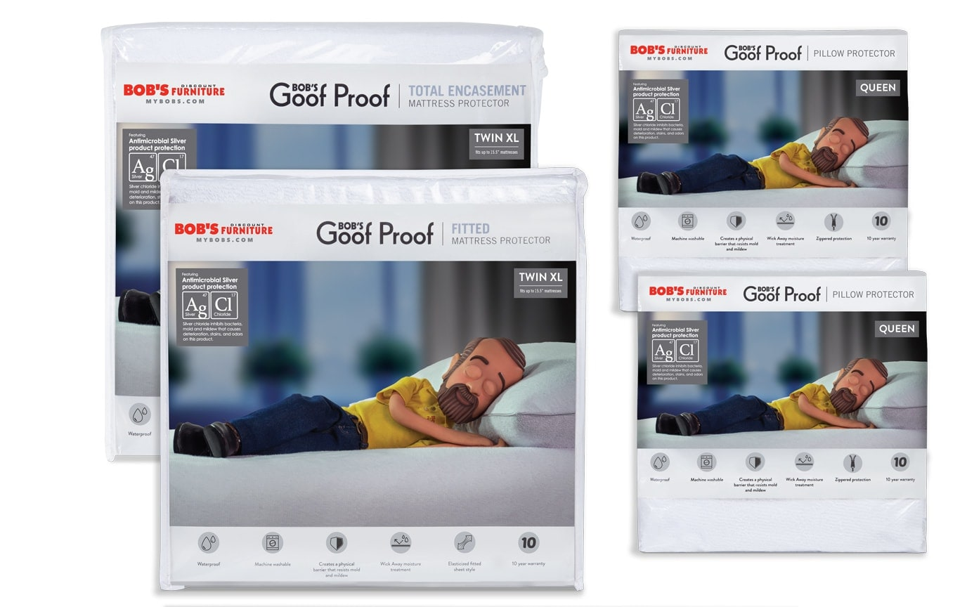 Twin XL Best Mattress and Pillow Protector Bundle