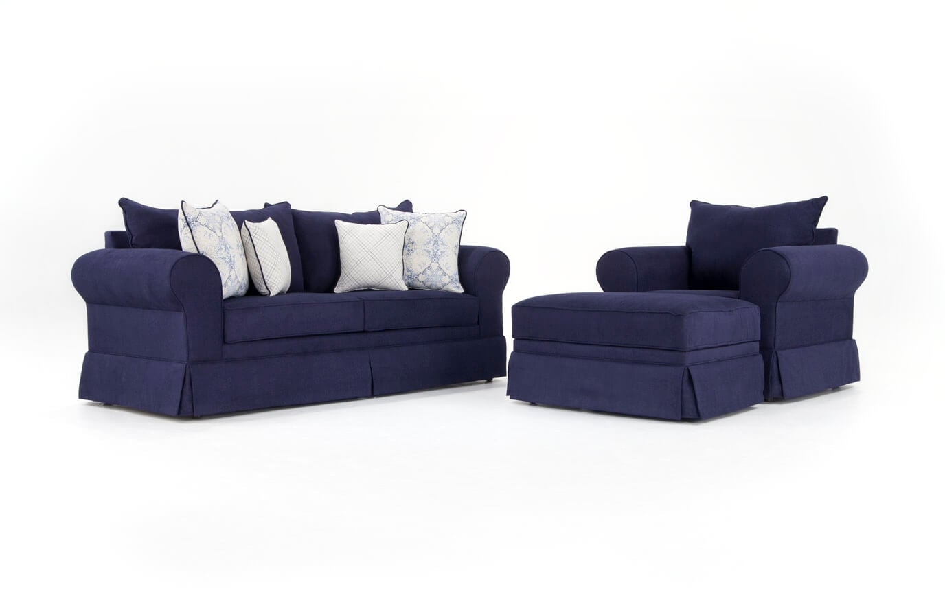 Oasis Sofa, Chair & Storage Ottoman