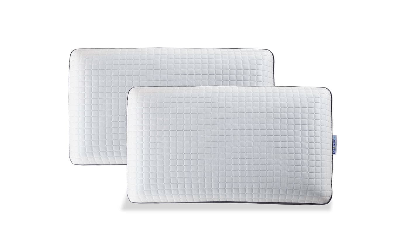 Set of 2 Bob-O-Pedic Gel Infused Queen Pillows