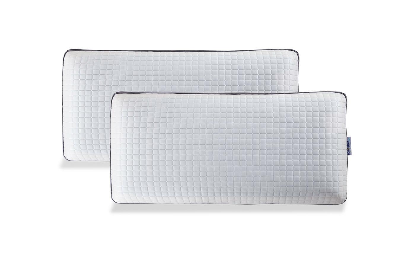 Set of 2 Bob-O-Pedic Gel Infused King Pillows