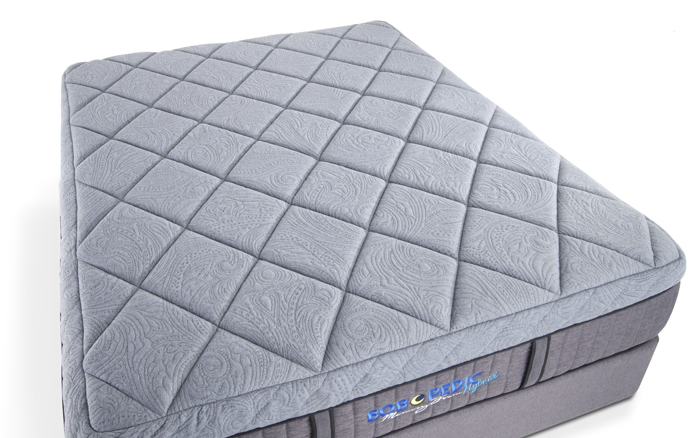 Bob-O-Pedic Hybrid Full Low Profile Mattress Set