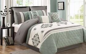 Loraine King 9 Piece Comforter Set