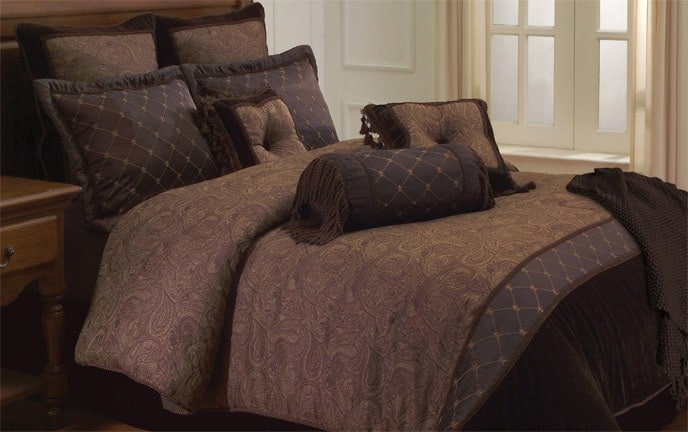 Arabesque 10 Piece Queen Comforter Set