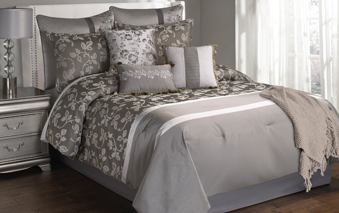 Ella 10 Piece Queen Comforter Set