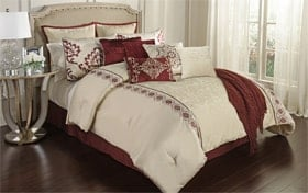 Amari Queen 12 Piece Comforter Set