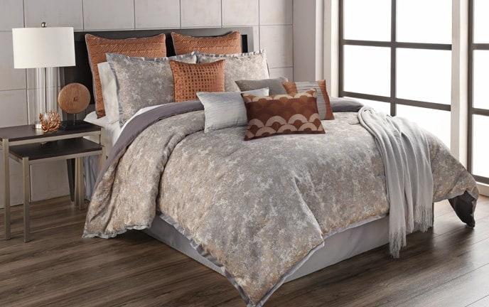 Raia 12 Piece King Comforter Set