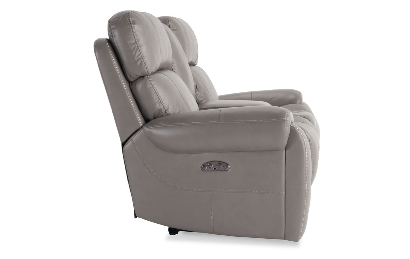 Orion Power Reclining Console Loveseat