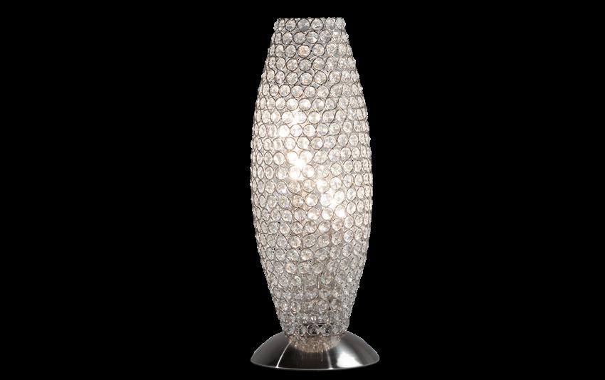 Shimmer Crystal Goblet Lamp