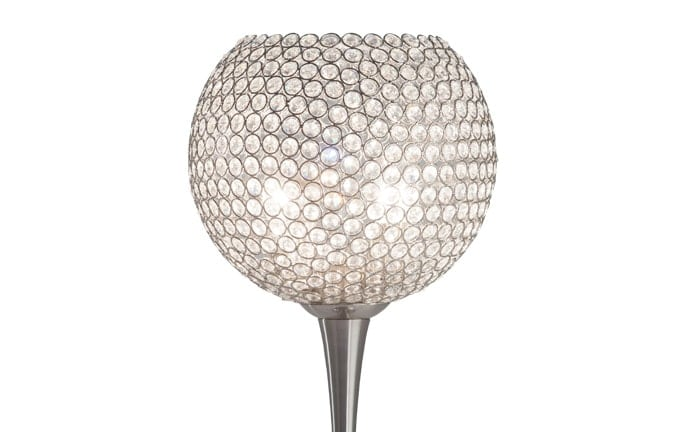 Sparkle Crystal Goblet Lamp