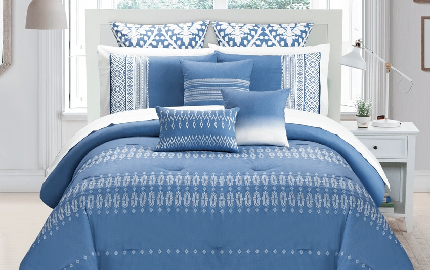 Laney King 9 Piece Comforter Set