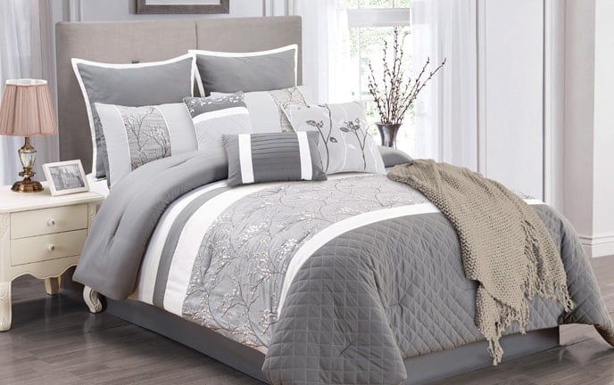 Ordinaire Penelope 10 Piece Queen Comforter Set