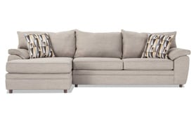 Odin Silver Right Arm Facing Sectional
