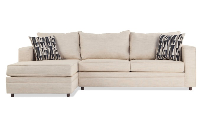 Ivan Beige Right Arm Facing Sectional