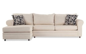 Emma Beige Right Arm Facing Sectional