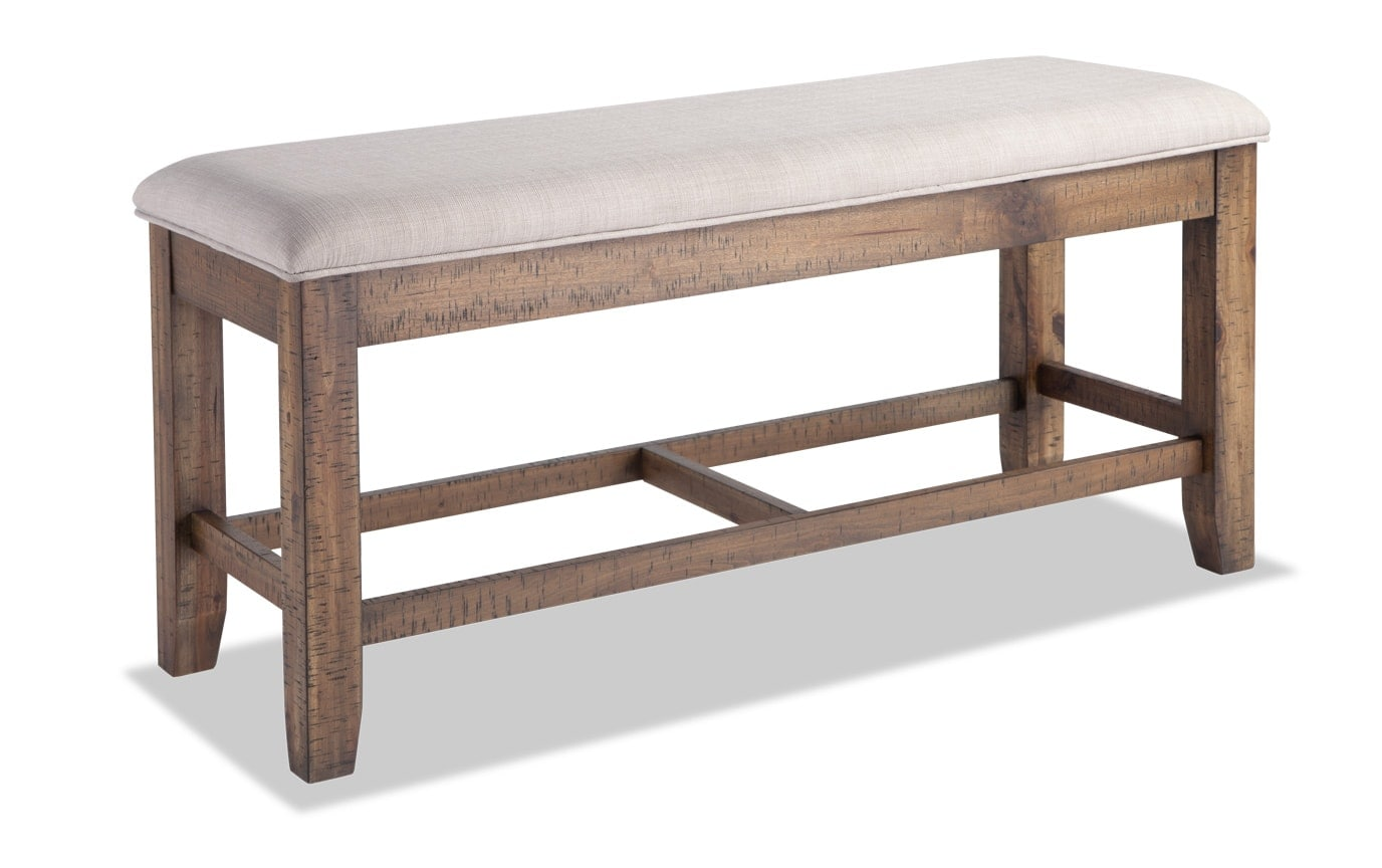 Sonoma Counter Storage Bench