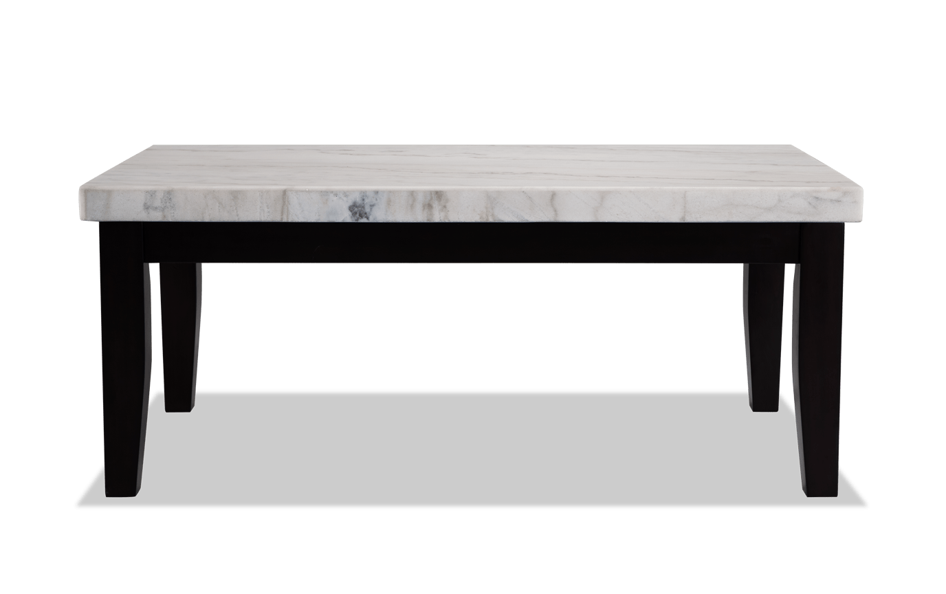 Montibello White Marble Coffee Table