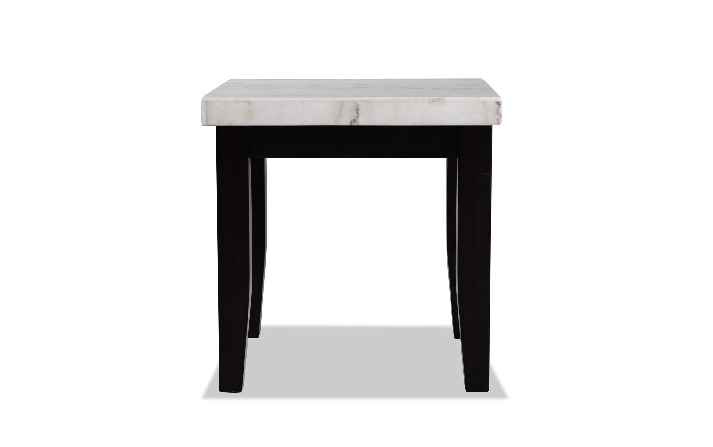 Montibello White Marble End Table Bob S Discount Furniture