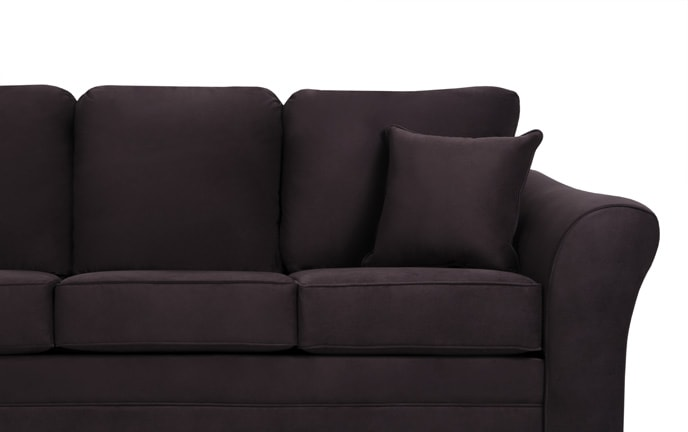 Adrina Double Plum Sofa