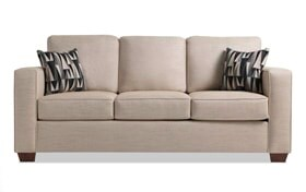 Aubree Beige Sofa