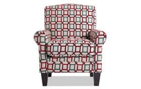 Tory Cardinal Accent Chair