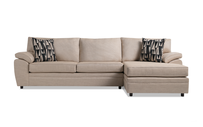 Odin Beige Left Arm Facing Sectional
