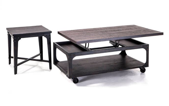 Foundry Coffee Table Set  sc 1 st  Bobu0027s Discount Furniture & Coffee u0026 End Tables | Bobu0027s Discount Furniture