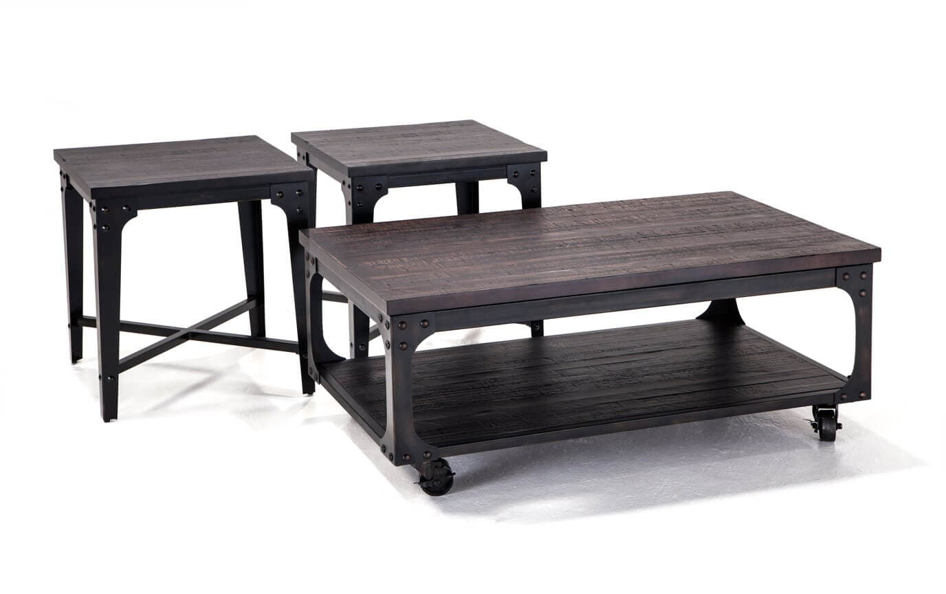 Foundry Coffee Table Set  sc 1 st  Bobu0027s Discount Furniture : cheap coffee table set - Pezcame.Com